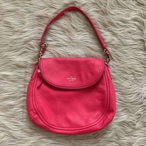 Kate Spade Cobble Hill Pink Bag with gold …